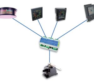 RAI - systém indikace úhlu kormidla