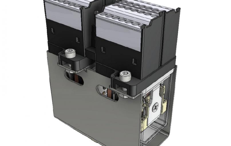 Nový 8-pólový reléový modul D8M-U200